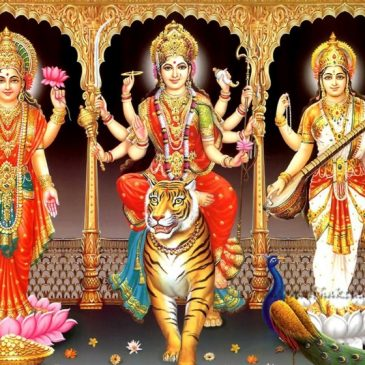 saraswati lakshmi durga