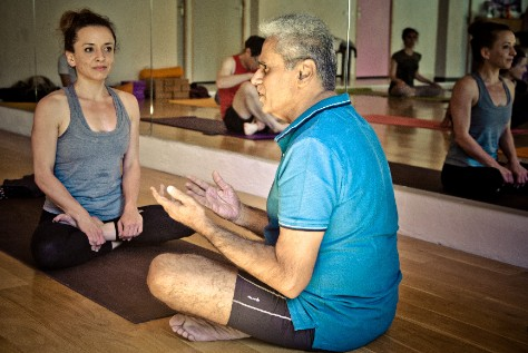 yoga kendra style