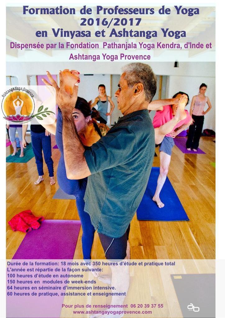 formation prof yoga 2016