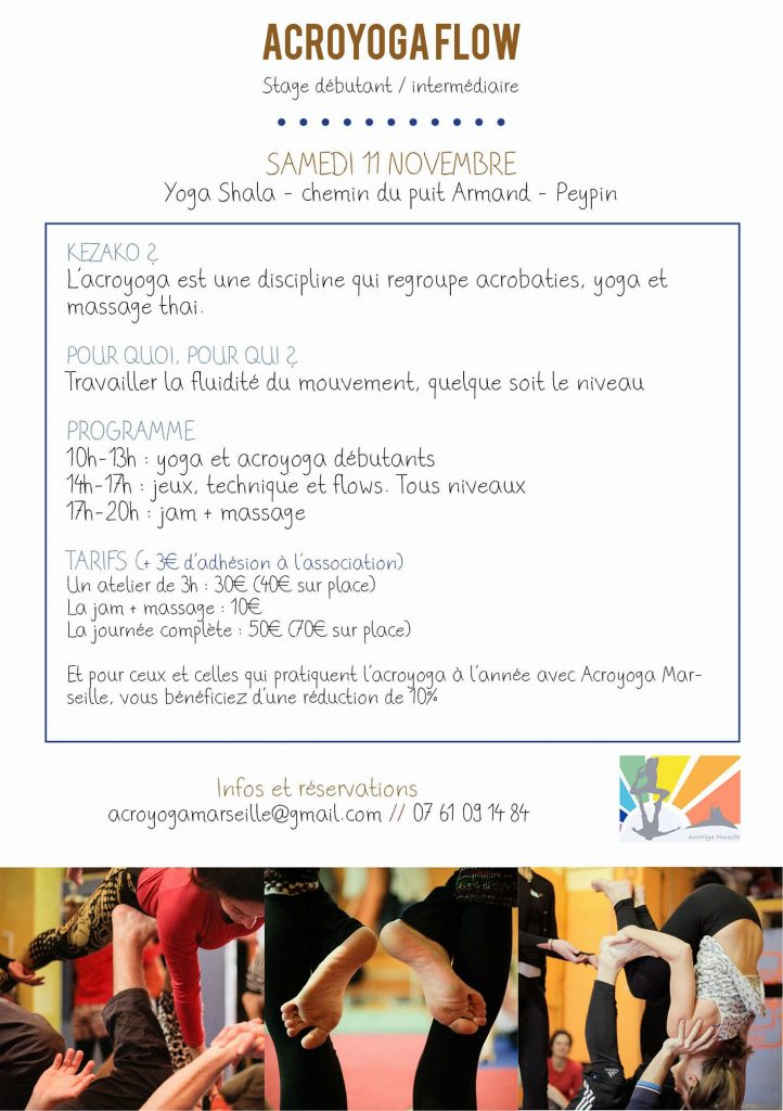 stage acro yoga provence