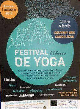 festival de YOGA de Forcalquier