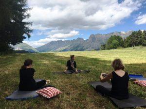 stage de Jeûne et yoga dans les Alpes