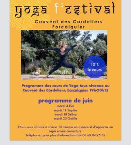 yoga forcalquier