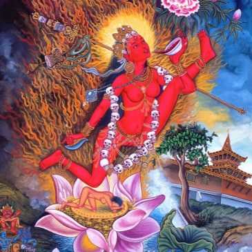Khecari mudra – When the divine Goddess takes off in inner space