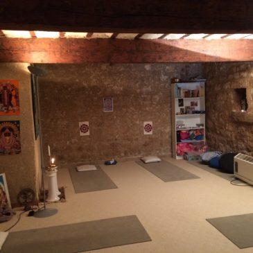 Très belle salle de yoga Pertuis