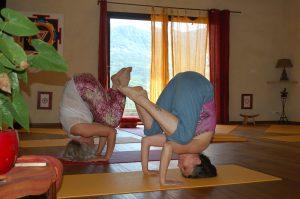 kakasana ashram yoga provence